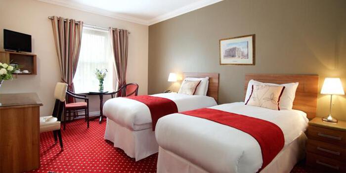 Habitación de hotel en Dublín