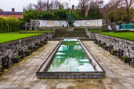 jardín del recuerdo en dublín