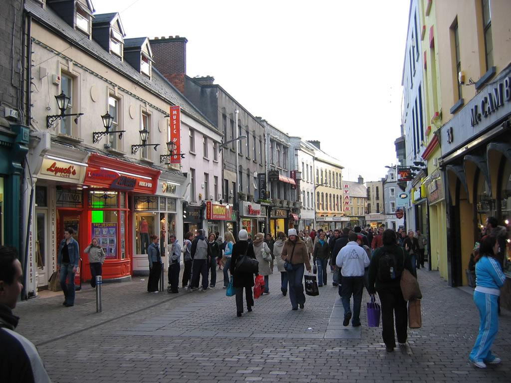 Galway Street View - Irlanda -  Jump!