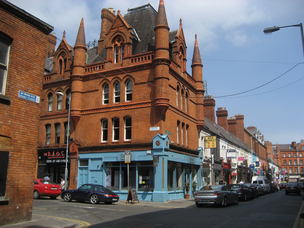 Drury Street, el Dublín más bohemio y vintage