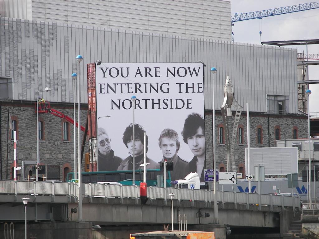 U2 presente en Dublín