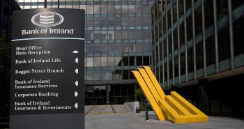 Bancos en la capital de Irlanda